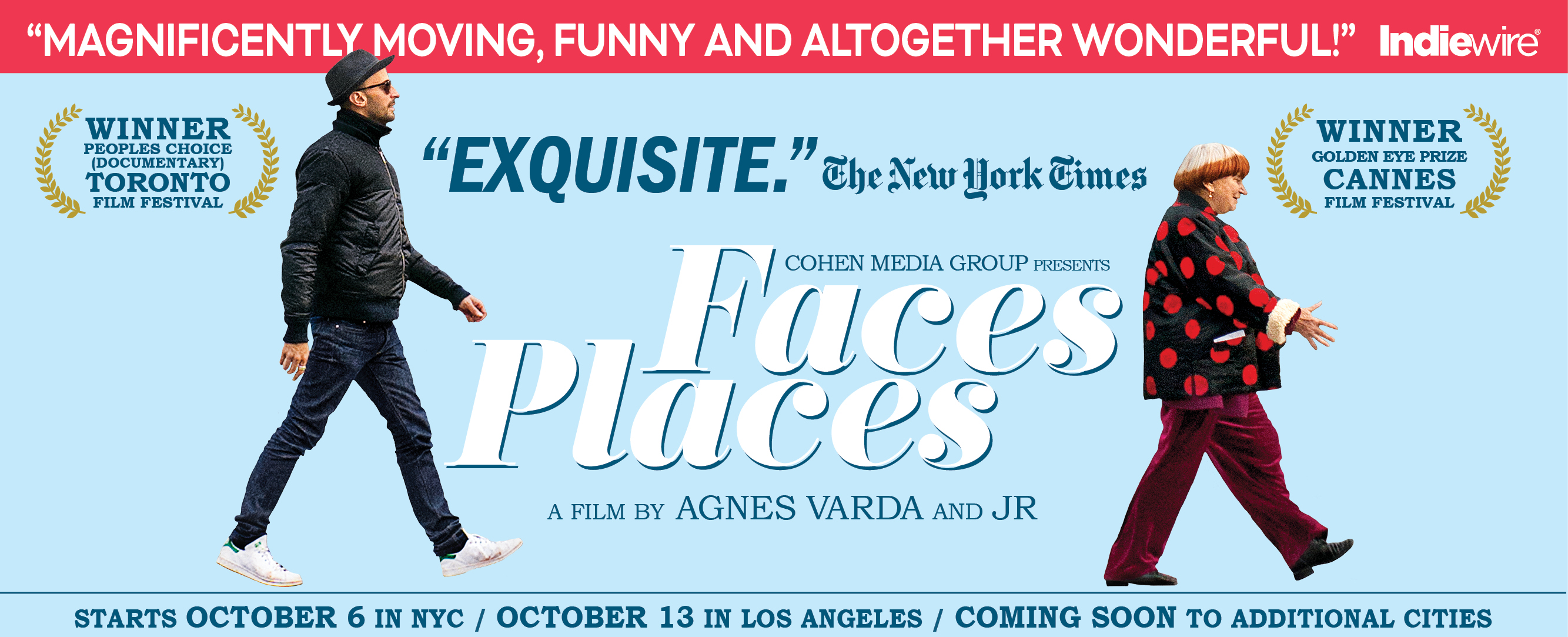 "Review of ""Faces/Places"""