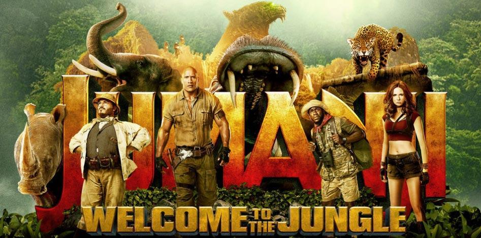 """Susan Granger's Review of """"Jumanji: Welcome To The Jungle"""""""
