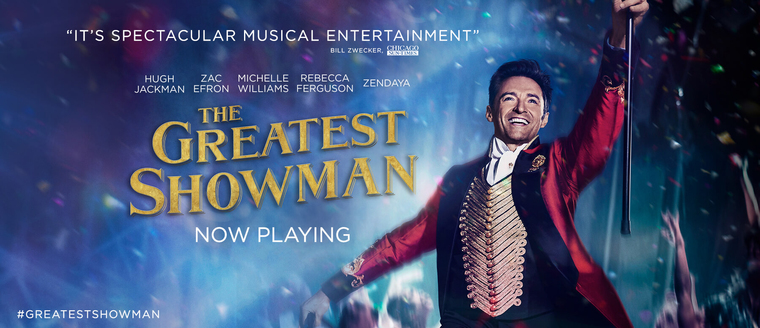 """Susan Granger's Review of """"The Greatest Showman"""""""