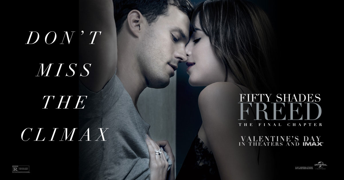 "Susan Granger's Review of ""Fifty Shades Freed"""