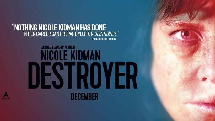"""Destroyer"""" ← Susan Granger"""